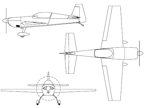 3-view drawing
